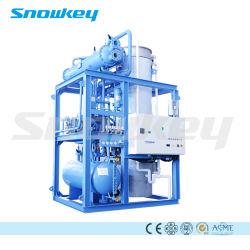 Macchina di fabbricazione di ghiaccio trasparente commestibile del tubo di più nuovo disegno 20 T/D di Snowkey