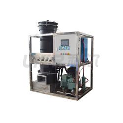 Soluzione commerciale 1ton della pianta di ghiaccio della macchina di ghiaccio del tubo 30tons ad approvazione del Ce LVD