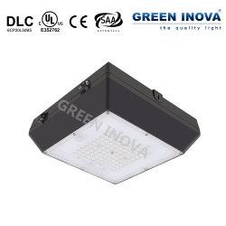 Dlc ULのcUL SAAのセリウム(20W 30W 40W 55W 80W)との給油所の照明のための屋外LEDのガレージランプのおおいの据え付け品ライト