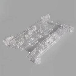 قوالب حقن بلاستيكية عالية الدقة من OEM لجزء شفاف به PC/PMMA/PS