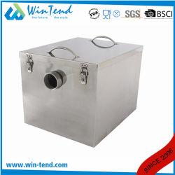 De aço inoxidável 304 Cozinha interceptor de interceptação de Graxa do separador de água do óleo