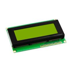 새로운 LCD2004 20X4 5V 특성 LCD 디스플레이 모듈 황록색 역광선