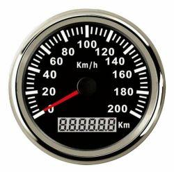 85mm wasserdichter Digital GPS Geschwindigkeitsmesser-Auto-LKW-Motorrad-Entfernungsmesser 200km/H