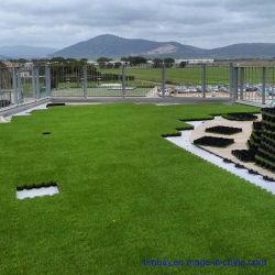 O intertravamento de bricolage mosaico de PP de relva artificial Turf para jardim