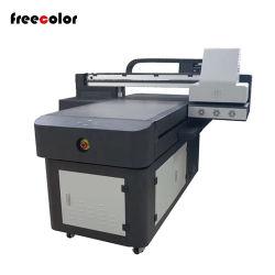 Stampante a base piatta UV di nuovo disegno con colore bianco della vernice di Cmyk LC Lm delle 3 teste