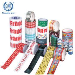 L'impression personnalisée de gros de l'OPP BOPP adhésif d'emballage de l'emballage de la bande avec logo Case Prix de bandes de package