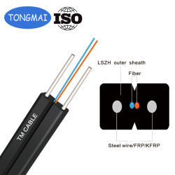 ISO двойной Core плоского типа оптоволоконный кабель