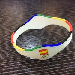 Sy01-01-007 Energia Iões de titânio bracelete magnéticos Bandas de Equilíbrio de iões de desporto
