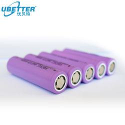 Prix bon marché 18650 3,7 V Batterie au lithium rechargeable