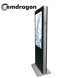 ワイヤレス HD プログラム LCD ディスプレイ 55 インチウィンド冷却式垂直スクリーンランディング屋外広告マシンデジタルフォトフレーム
