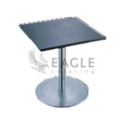 Квадратный брус из нержавеющей стали с деревянной отделкой Table-Board кофейный столик