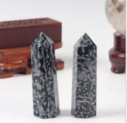 ثلوج طبيعية بلورية من الزجاج تشير إلى حجر رملي ذهبي ورمال كريستالي مداواة الجراح