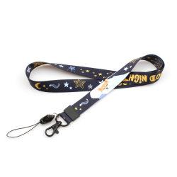 Настраиваемые шнурок цветной печати передача тепла строп предохранительного пояса сотовый телефон планке с помощью цепочки ключей крюк