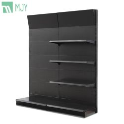 Matériel et les outils étagère métallique perforée de supermarché de présentoir avec panneau arrière à trous ronds Mjy-4601