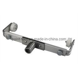 إطار بكرة طلاء ذات ذراعي مزدوج قابل للضبط مع أذرع امتداد