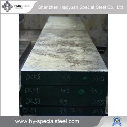 高品質の鉄棒棒DC53 Cr8mo2VSI鋼鉄