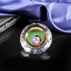 80 mm de alta calidad de Diamantes de cristal grabado en el marco de fotos
