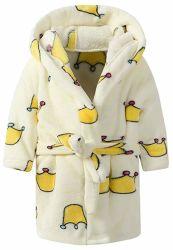 Druck-Bademantel-Kind-Kleider Plain gefärbten Bademantel-Baby-Bademantel
