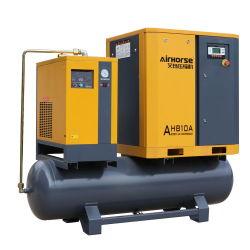 De beste PLC van het Ontwerp van de Kwaliteit Originele Industriële Verticale Tank van de Controle en de Drogere Compressor van de Lucht van de Schroef