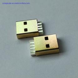 Cables dedicados Conector USB 2.0 Plug chapado en oro.