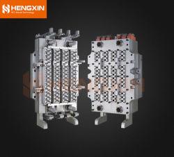 48 empreintes injection plastique PET /PP/PC/ PLA moule de préforme/ moule avec canal chaud poids de préforme personnalisé, taille de col, empreinte