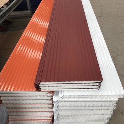 Matériau de construction de maison préfabriquée 16mm Matériau de construction étanche et résistant au feu d'isolation thermique décoration extérieure de polyuréthane rigide Carte murale