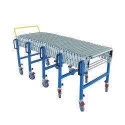 China extensível de fábrica de aço flexível do Transportador de rolos para caixas de transferência