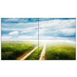 Pared de vídeo de 46 pulgadas LED Controlador de panel de pared de vídeo para eventos Alquiler de publicidad de vídeo HD de gran gran televisor LED Wallc Publicidad