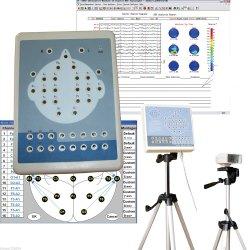 نظام تخطيط الخرائط الكهرورقمية Kt88-1018 16 قناة EEG Machine+2 قناة ماكينة EEG