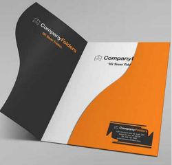 A4 크기 회사 정보 용지 폴더 비즈니스 폴더 도매