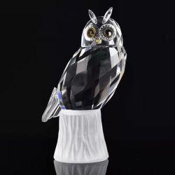 Оптовая торговля хрустальное стекло ручной работы модели животных фигурка для свадебного Новогодние подарки