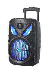 مكبر الصوت المحترف Spider Man تروللي الصوت اللاسلكي المحمول بلوتوث PA سماعة بطارية تعمل بالصوت لحفلة DJ خارجية