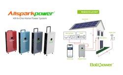 Настраиваемые 3Квт 5 квт off - Grid солнечной системы солнечной энергии для использования в домашних условиях