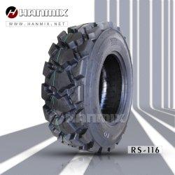 Ind de Skid Steer Hanmix viés Radial concreto sólido Áreas de demolição de asfalto Pedreiras Plantas de vidro e sucata de Pneus industriais 10-16,5 12-16,5