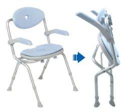 Nuova Sedie mediche doccia per disabili bagno panca per il Bagno usato per anziani con braccia posteriori