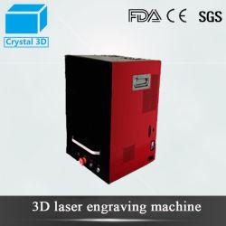 レーザーの機械装置の工場3D肖像画結晶レーザーの彫版機械価格
