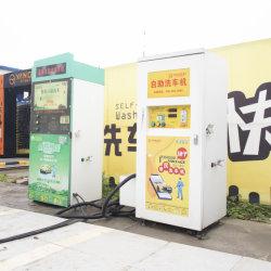 より低い電気消費のセルフサービス洗濯機は手洗いの流し、 lcd の広告スクリーン、装飾的なライトと、洗濯機を備えている