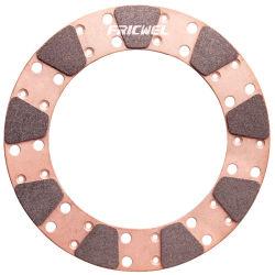 Attrito dei ricambi auto che corre il tasto di rame 9875-3 della frizione di Miba del rilievo di attrito sinterizzato disco