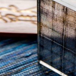 Getelegrafeerde Geëtsth Patroon/Zuur/Zandstralen/Decoratie/de Aangemaakt Deur van de Douche/Venster/Vacuüm/het Glas van de Baksteen van het Blok van het Glas