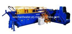 Calentamiento por inducción de frecuencia media forja soldadura por fusión de enfriamiento de endurecimiento de la máquina de templado de recocido