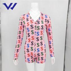 حارّ يبيع سيّدة ثوب فضفاض مثير [ف-نك] نمو نحيلة بالغ سترة القفز مثير بيجامة [أنس] حزب ملهى ليليّ لباس