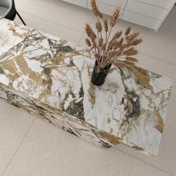 소결 스톤 광택 표면 주방 조리대 상판의 다채로운 세상