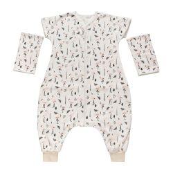 Sac de couchage bébé hiver Sac de couchage avec manches adultes Babying Sac de couchage