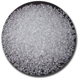 Раздавлены стекла из переработанных горячие продажи белого очистить стекло обжатой гранул для плитками Тераццо
