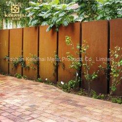 O zoneamento de jardim com anti corrosão em aço corten Proteção (KH-CS-54)