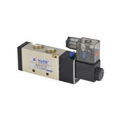 4Vシリーズは5/2の方法4V310-10電気制御のソレノイド弁を選抜する