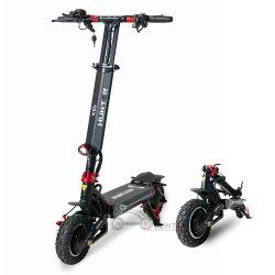 60V verdoppeln Motor weg vom Straßen-elektrischen Roller 2400W, der e-Roller-Mobilitäts-Roller-elektrisches Motorrad faltet