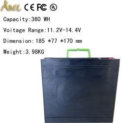 Bewegliche nachladbare 12V 28ah tiefe Batterie des Schleife-Energien-Bank-Station-Zubehör-Fahrzeug-LiFePO4 für RV-Boot/Autobatterie