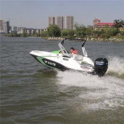 16FT la fibre de verre petit bateau de Jet Ski Powered