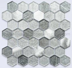 De beste Tegel van het Glas van het Kristal van de Vorm van het Mozaïek van de Kwaliteit Regelmatige Hexagon